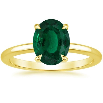 18K Yellow Gold Elodie Ring