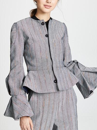 Hilary Flare Sleeve Jacket