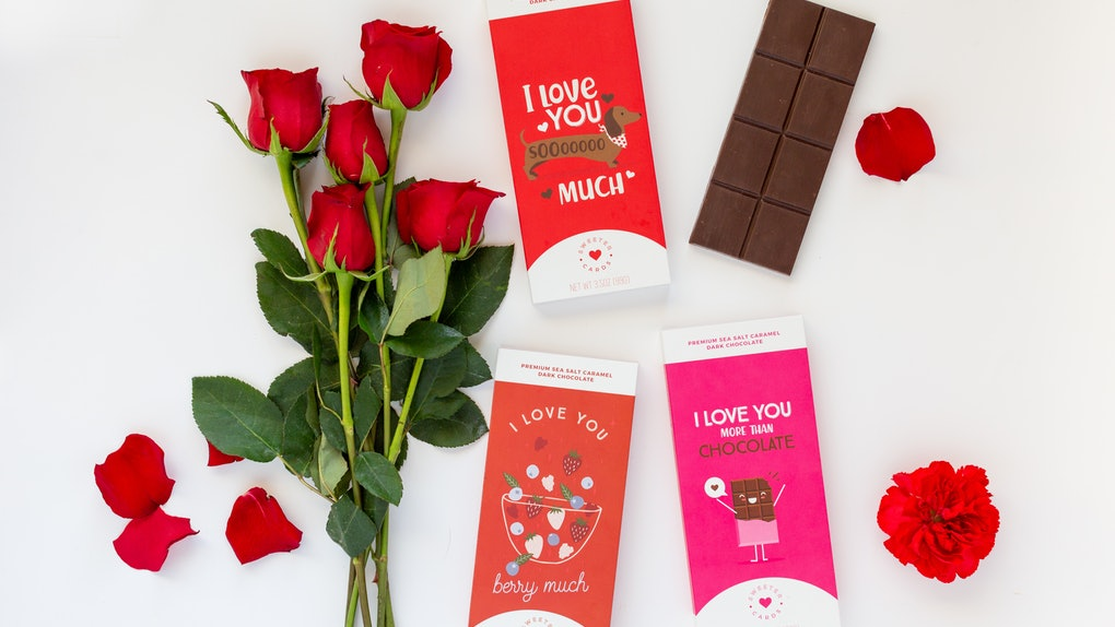 Sweeter Cards Valentine S Day 2019 Chocolate Cards Are A Tasty Way