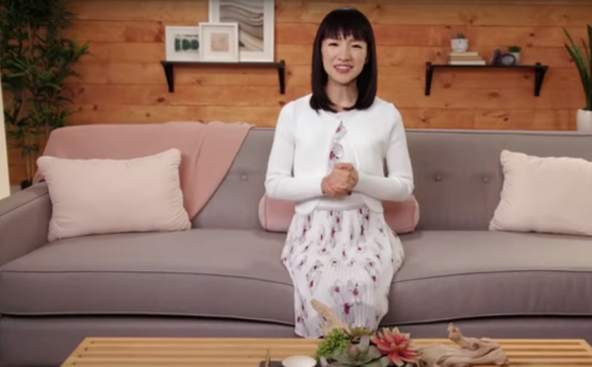 How Does Marie Kondo Fold Clothes? The Tidying Expert Uses A Special Method To Keep Clothing Neat