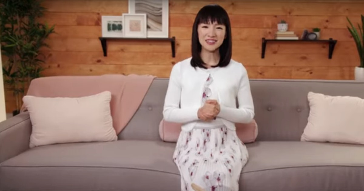 Here's How To Fold Clothes Exactly Like Marie Kondo From 'Tidying Up'
