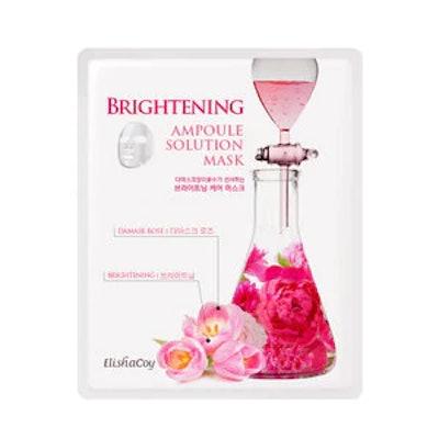 Elisha Coy Brightening Ampoule Solution Mask