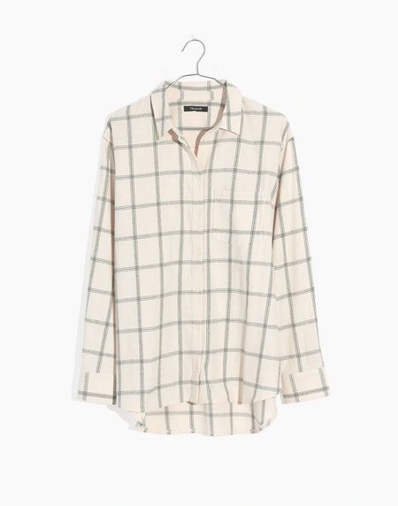 Flannel Oversized Ex-Boyfriend Shirt