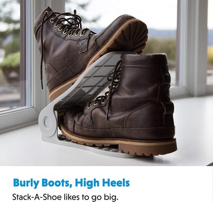 Livin' Well Adjustable Shoe Rack