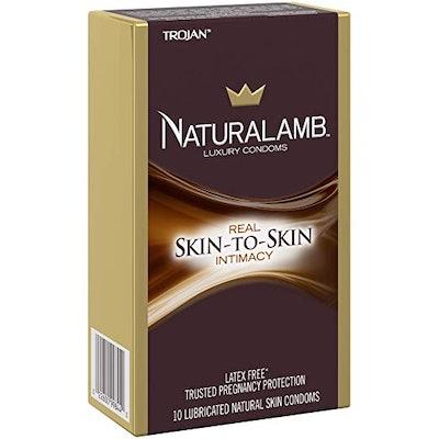 Trojan NaturaLamb Latex-Free Luxury Condoms (10 Pack)