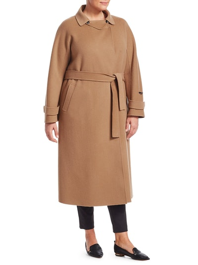 Trionfo Wrap Camel Coat