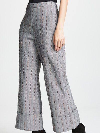 Cropped Carolyn Trousers