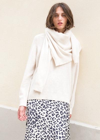 Cream 2-Piece Sweater Set