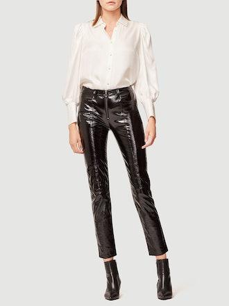 Slick Leather Pants