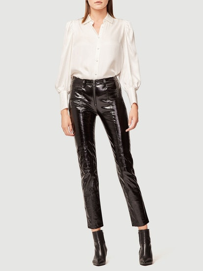 Slick Leather Pants