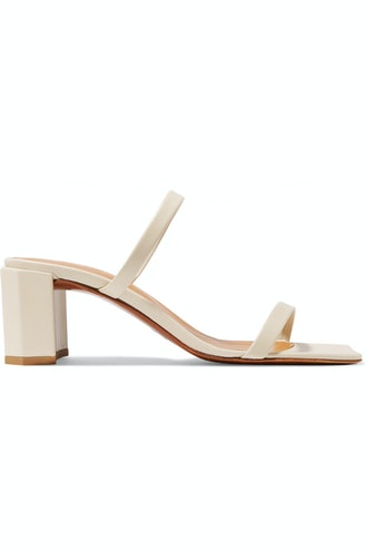Tanya Leather Mules