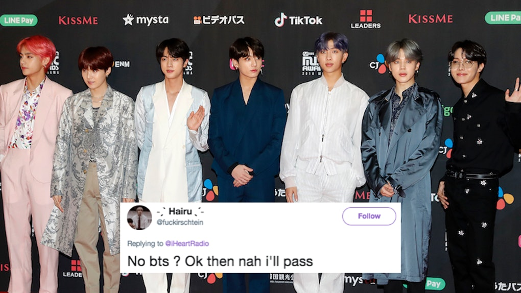 These Tweets About BTS' 2019 iHeartRadio Music Awards