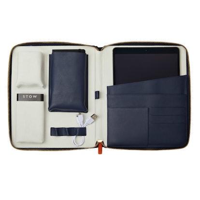 The World Class Tech Case – Sapphire Blue & Pale Grey