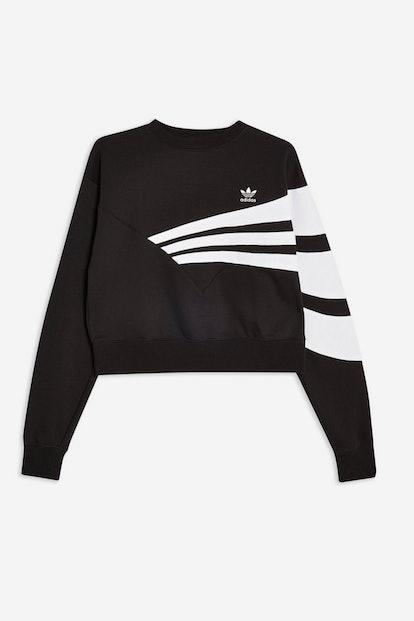 Swoop Crop Sweatshirt by adidas