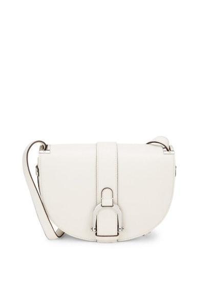 Sam Edelman Jeanne Half-Moon Leather Saddle Bag