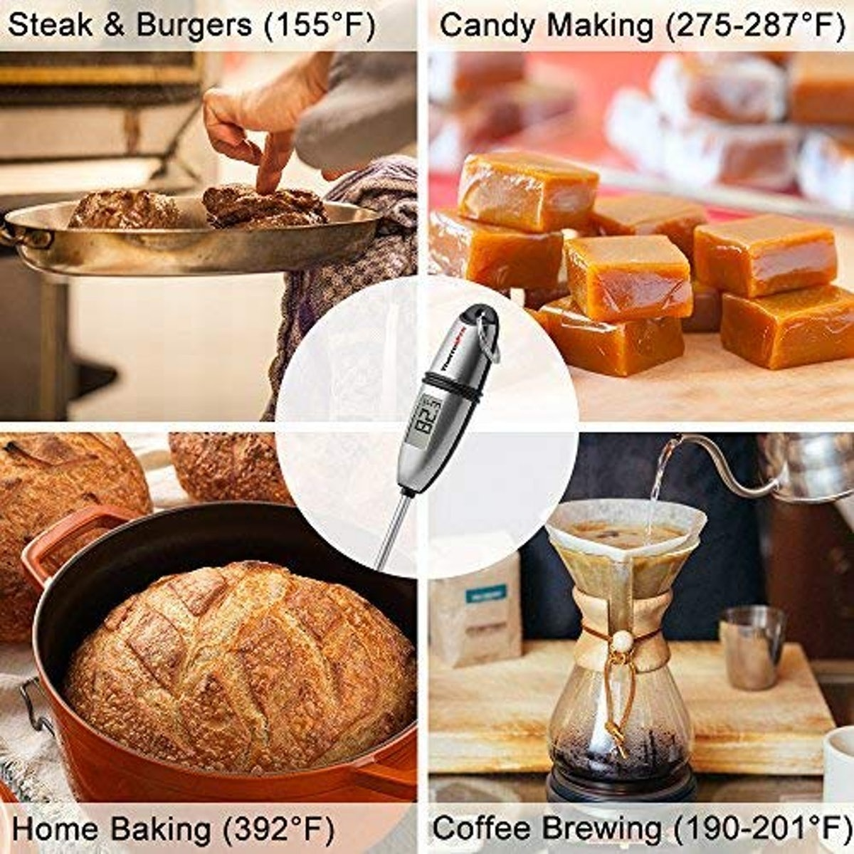 ThermoPro Instant Read Kitchen Thermometer