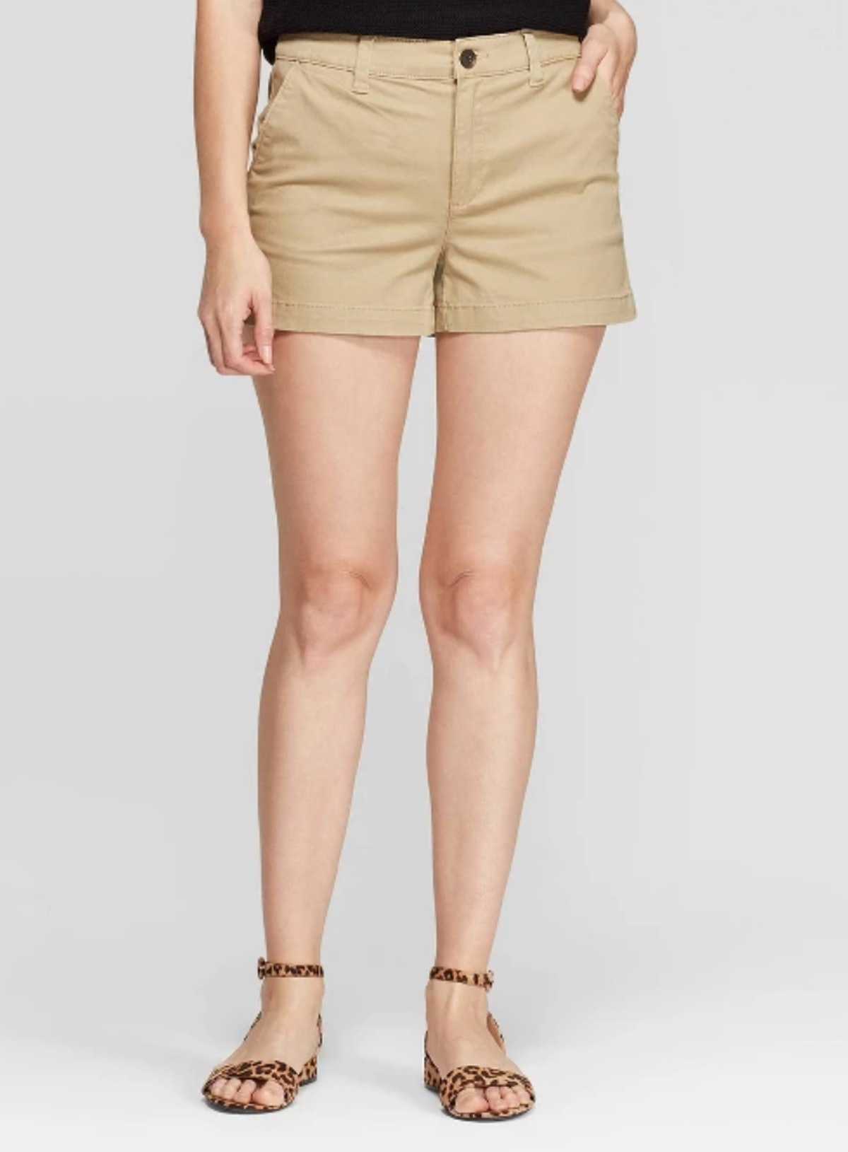 A New Day Women's High-Rise Chino Shorts