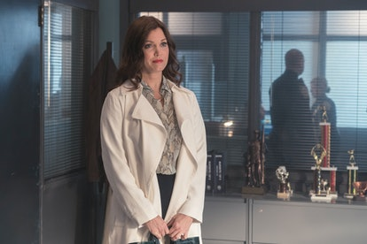 """Bellamy Young as Jessica Whitly in the """"Fear Response"""" episode of Prodigal Son."""