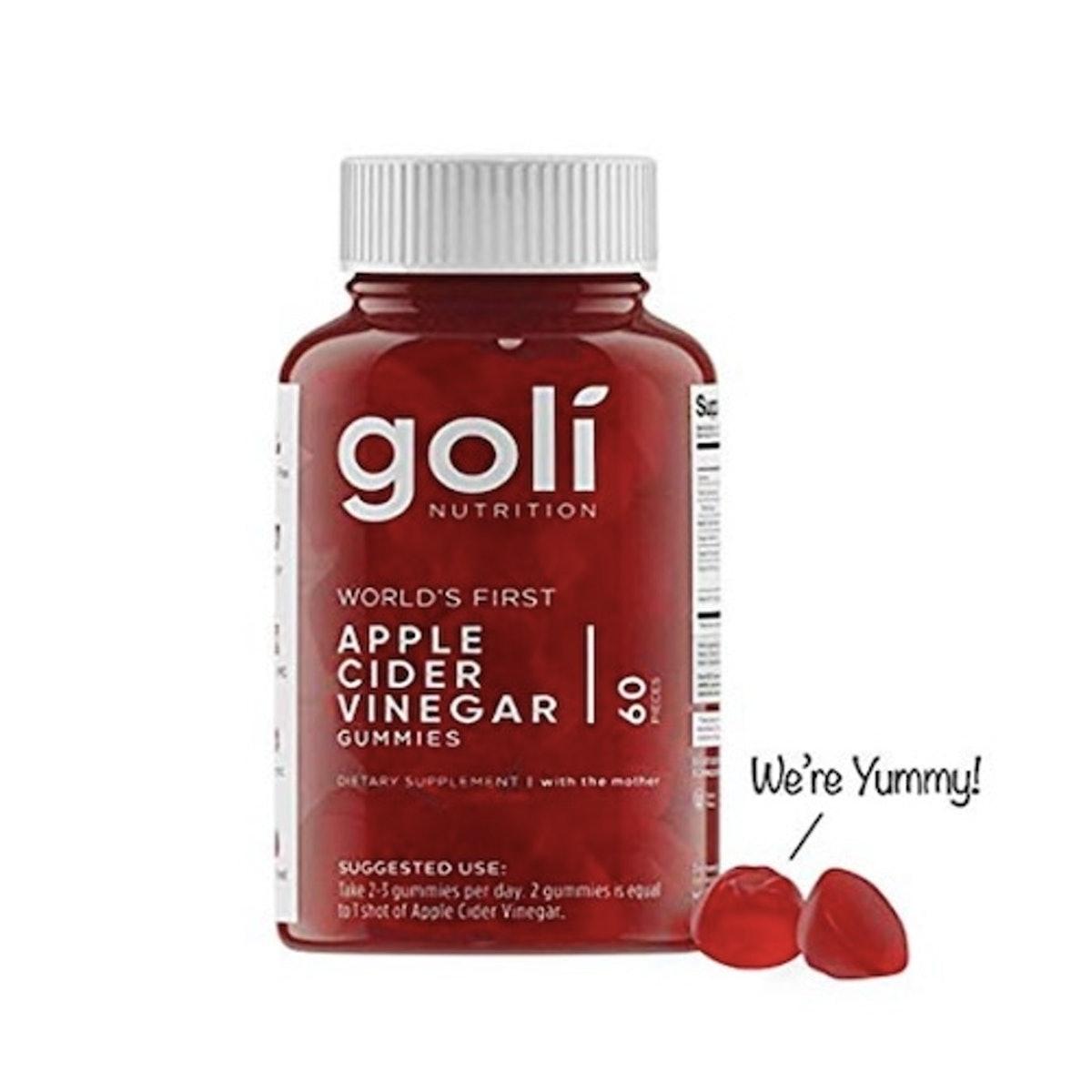 Goli Nutrition Apple Cider Vinegar Gummy Vitamins