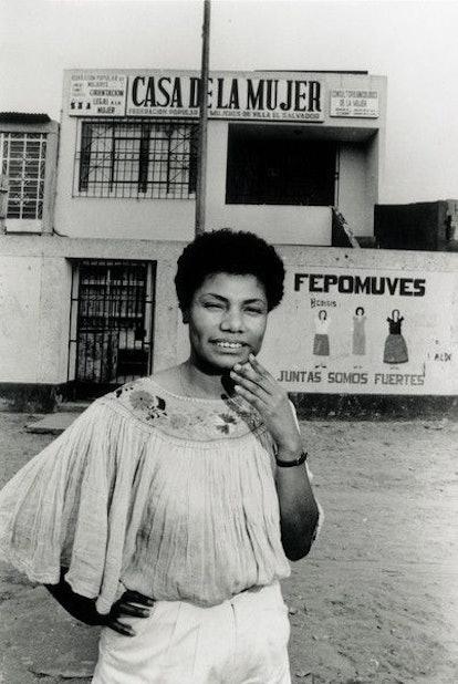 María Elena Moyano was a Latinx activist who promoted social programs in Peru.