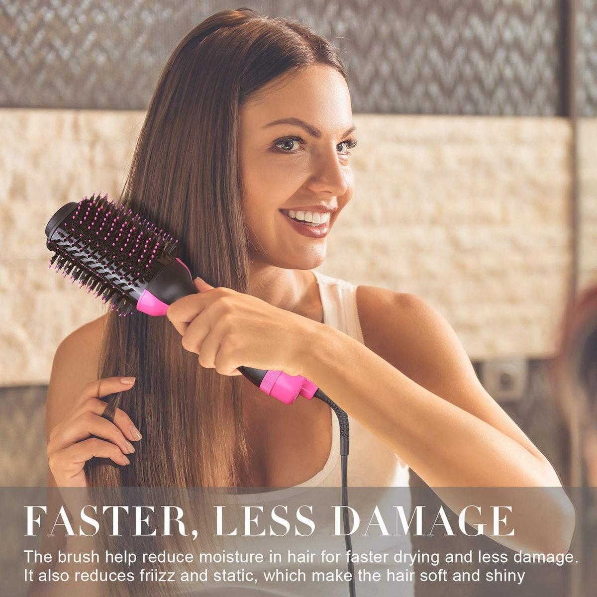 LANIC One Step Hair Dryer & Volumizer