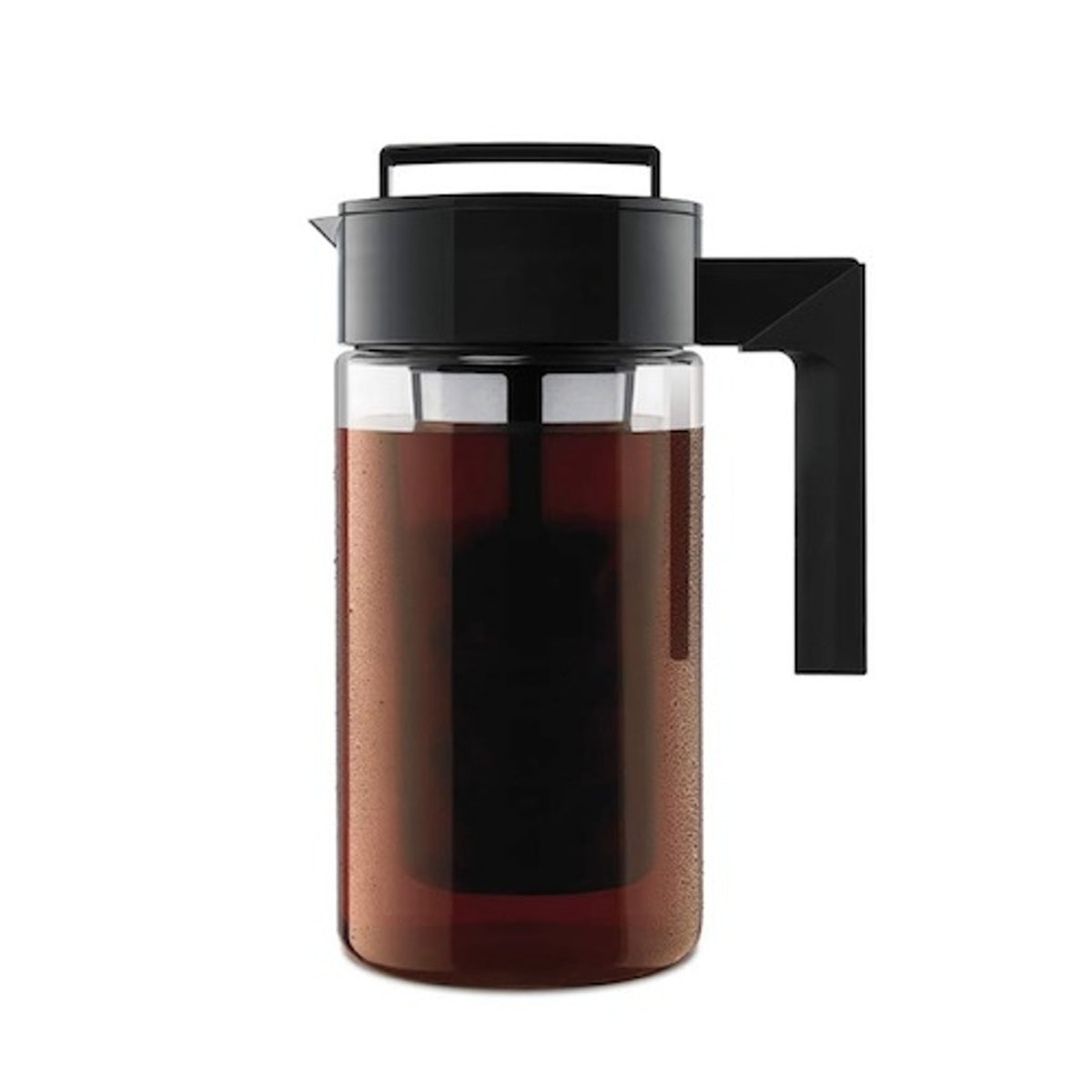 Takeya 10310 Patented Deluxe Cold Brew Iced Coffee Maker with Airtight Lid & Silicone Handle