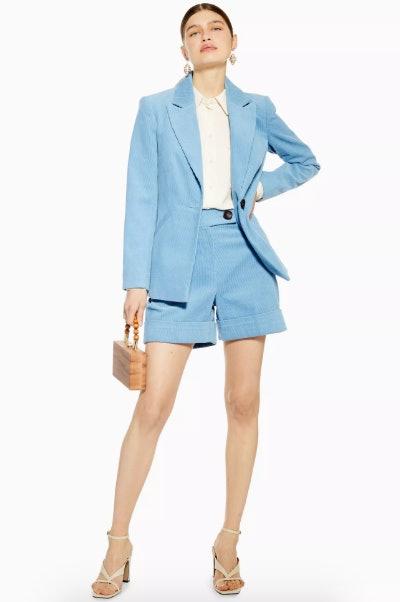Blue Short Suit