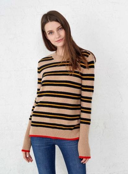 AAA Triple Stripe Sweater