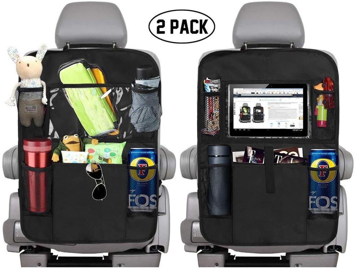KNGUVTH Backseat Car Organizers (2-Pack)