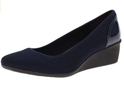 Anne Klein Sport Women's Wedge Pump