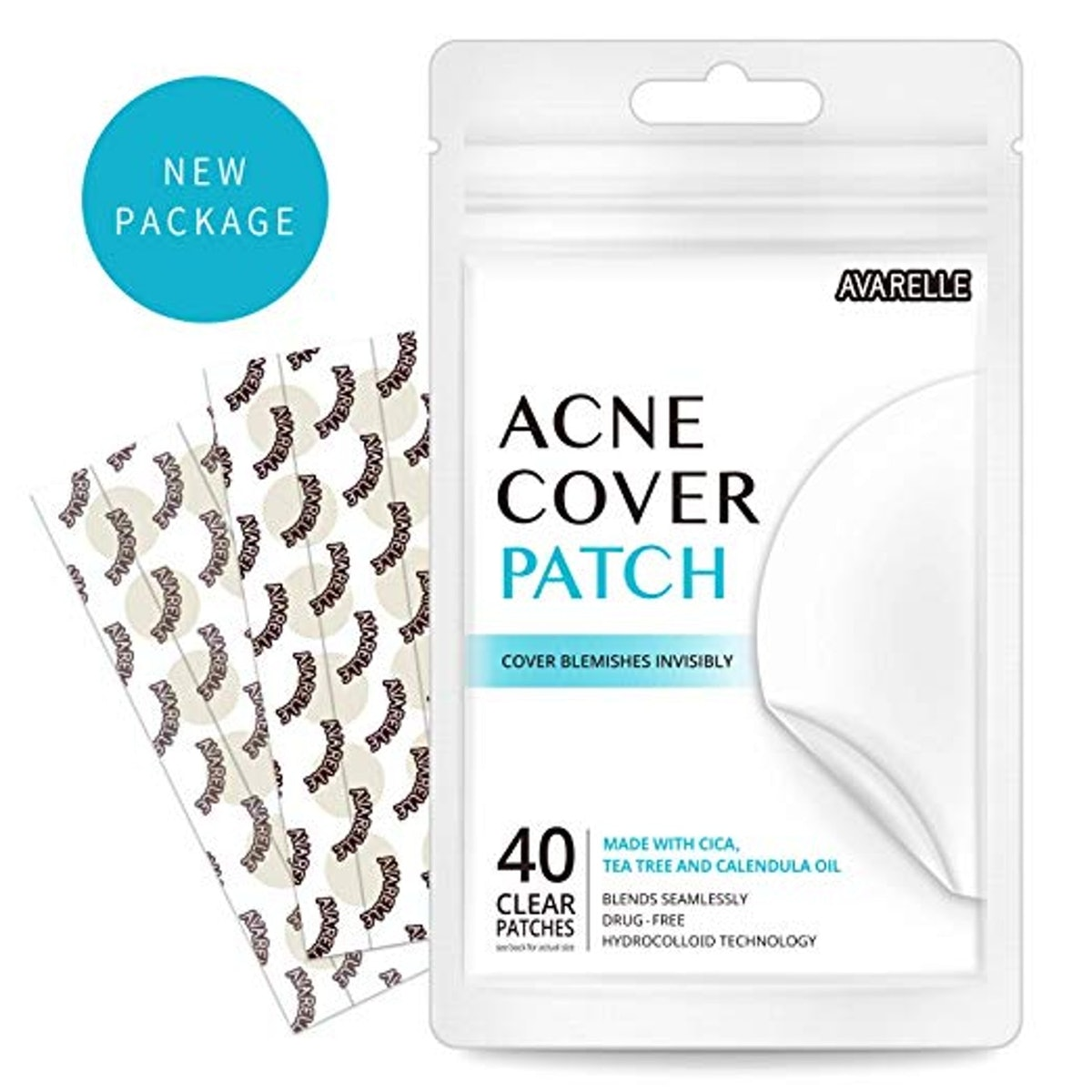 Avarelle Acne Absorbing Cover Hydrocolloid Patch
