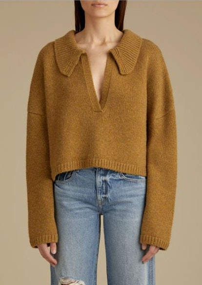 The Shelly Sweater In Fawn
