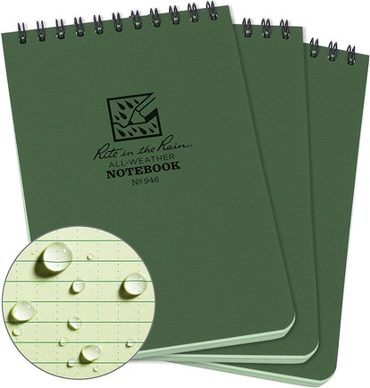 Rite In The Rain Weatherproof Notebooks (3-Pack)