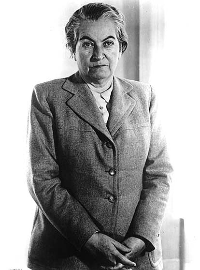 Gabriela Mistral was a Chilean author and activist.