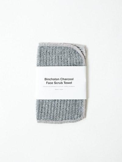 Morihata Charcoal Face Scrub Towel