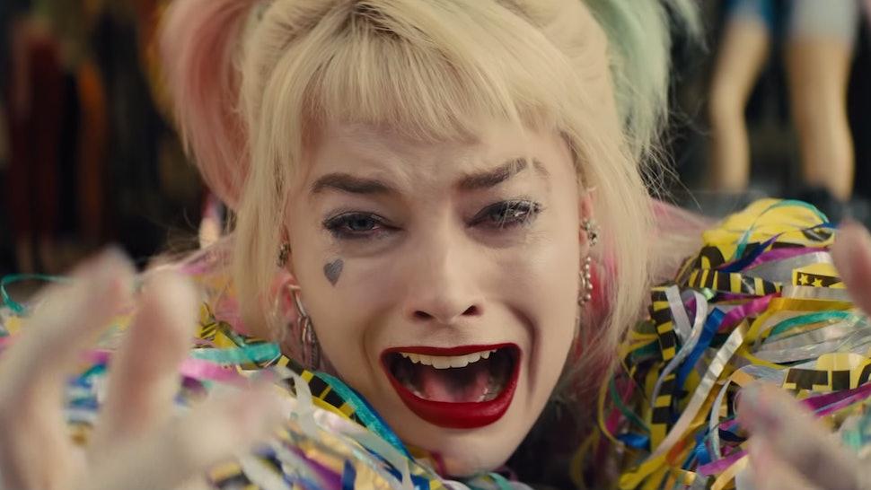 The Birds Of Prey Trailer Confirms Harley Quinn The