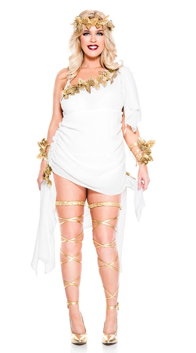 Plus Size Goddess Beauty Costume