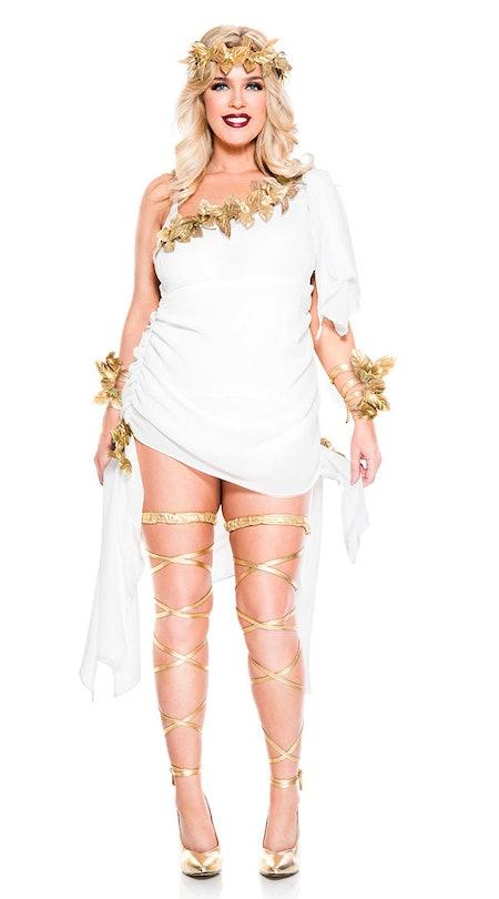 Plus Size Goddess Beauty Costume