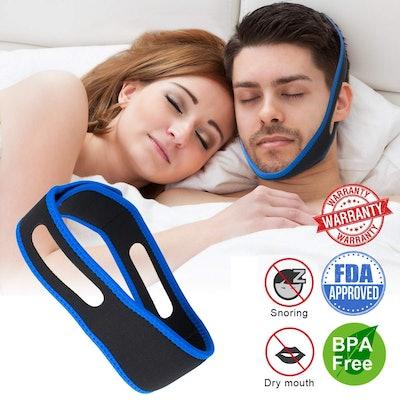 Copeaky Anti-Snoring Chin Strap