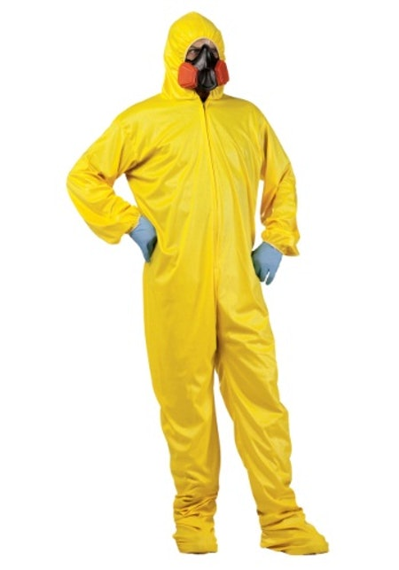 Halloween Costumes Hazmat Suit and Mask