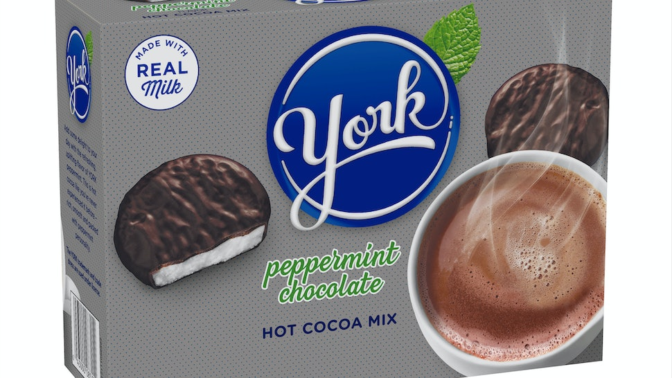 York Peppermint Patty Hot Chocolate Is The Perfect Winter Drink