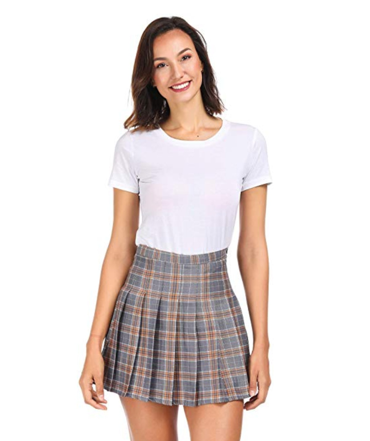 Clarisbelle Women's Plaid Skirt