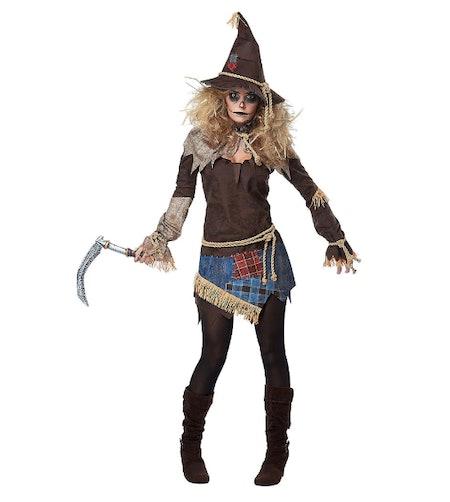 Womens Creepy Scarecrow Costume