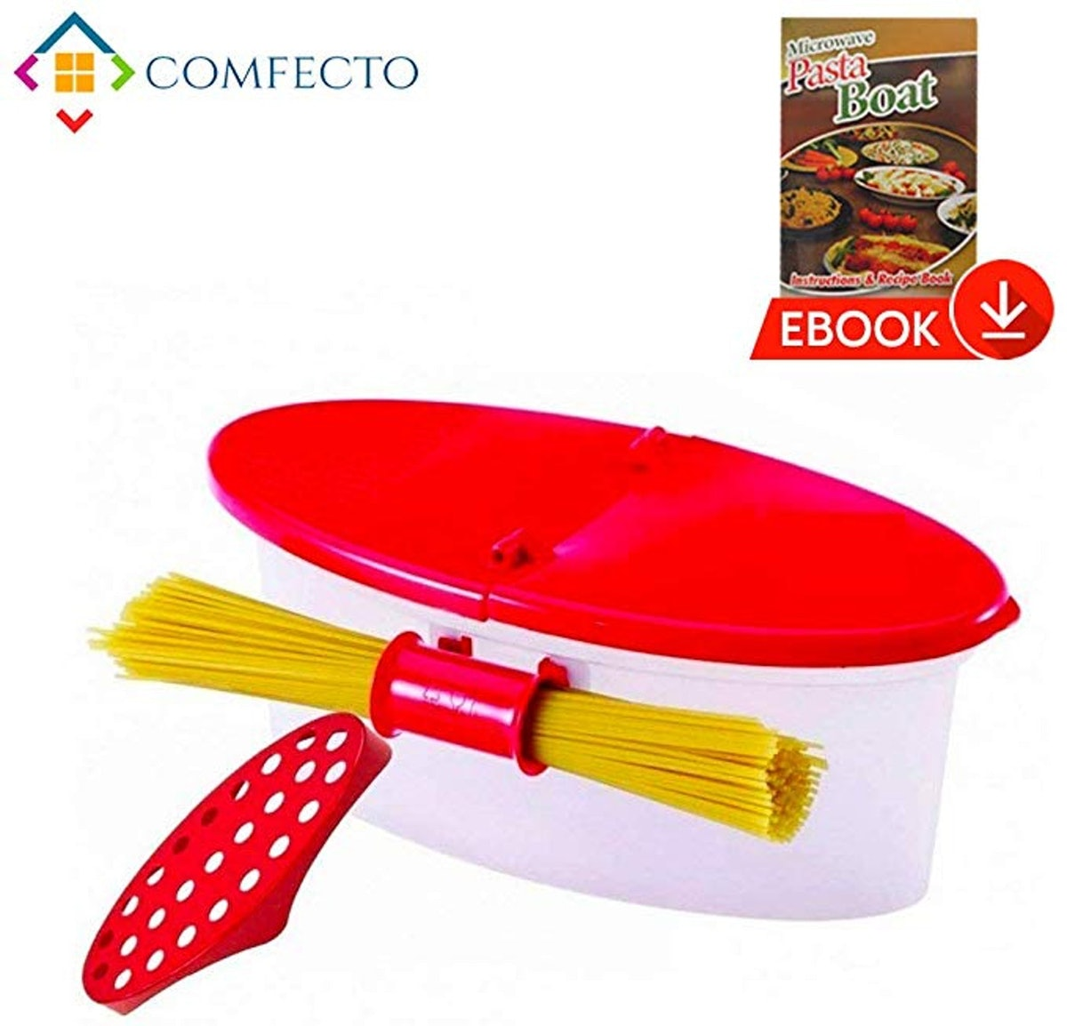 Microwave Pasta Cooker With Strainer