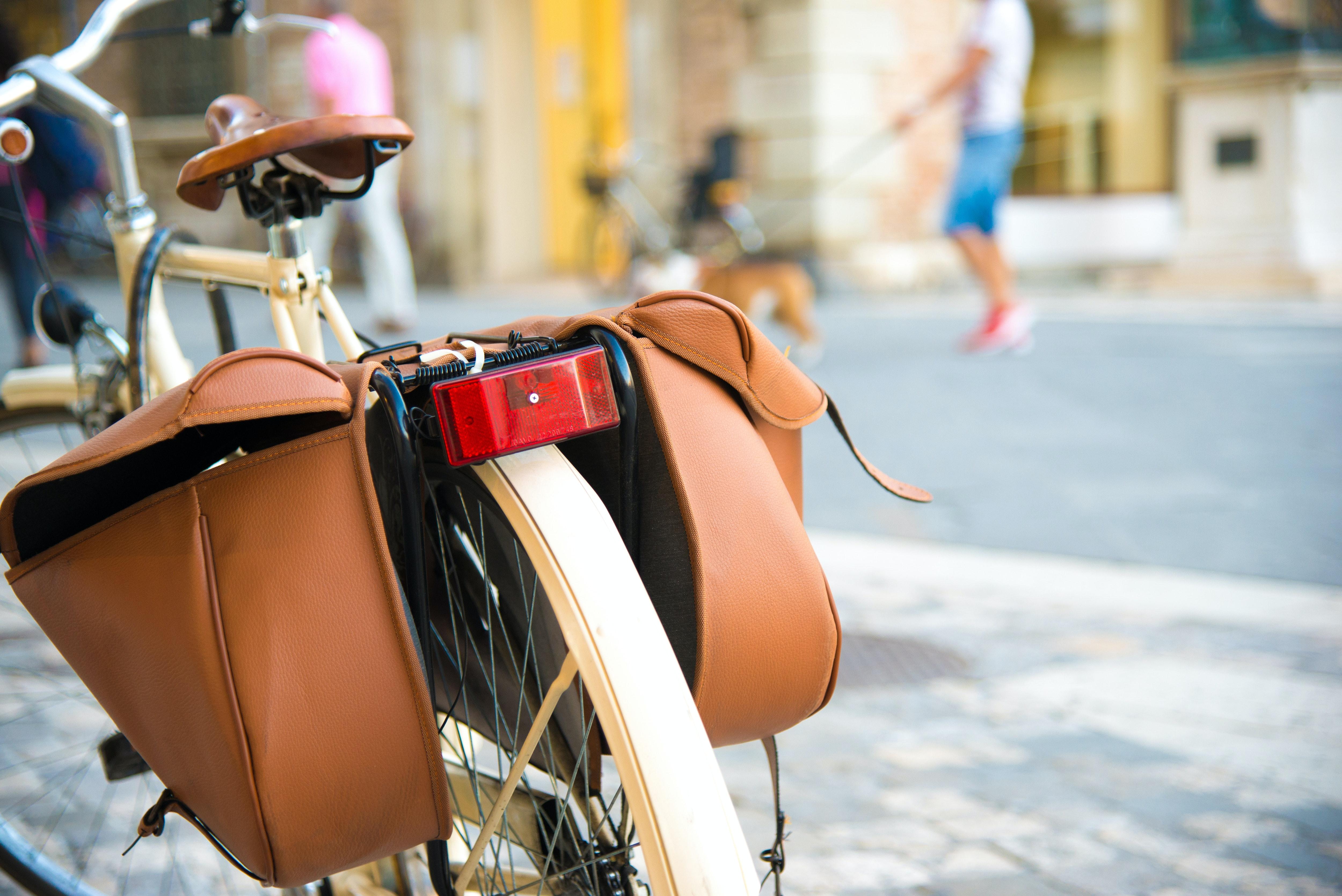 Waterproof Bicycle Tour Rear Panniers,Bike Touring Bags,Heavy Duty,Black,Large