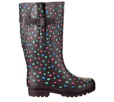 Jileon Extra Wide Calf Rain Boots