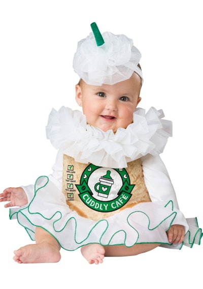 Infant Cuddly Cappuccino Costume