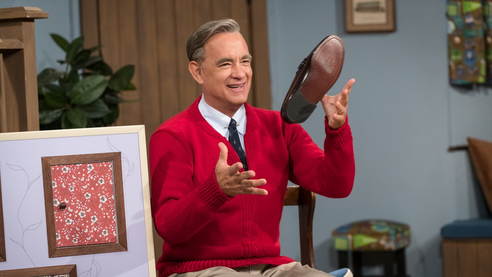 Tom Hanks as Fred Rogers in 'A Beautiful Day in the Neighborhood'