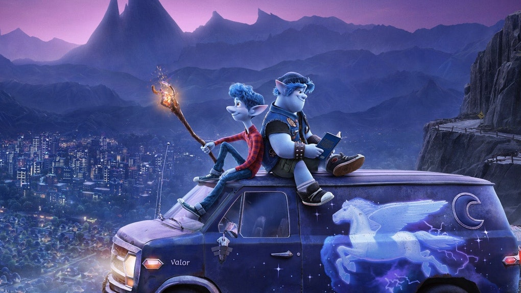 Tom Holland and Chris Pratt star in Pixar's Onward