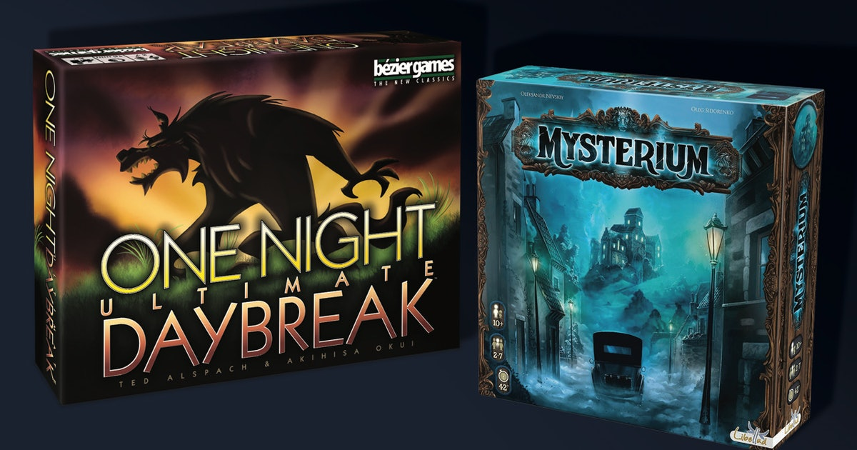The 7 Best Horror Board Games
